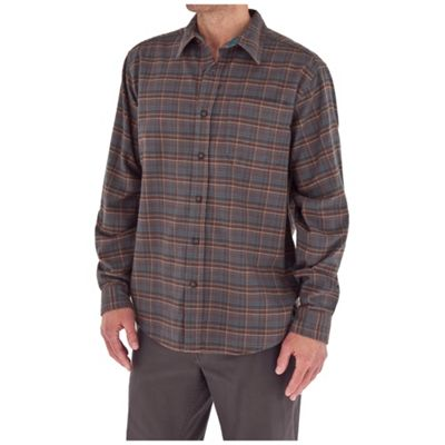 Royal Robbins Men's Lonepine Flannel Long Sleeve Top