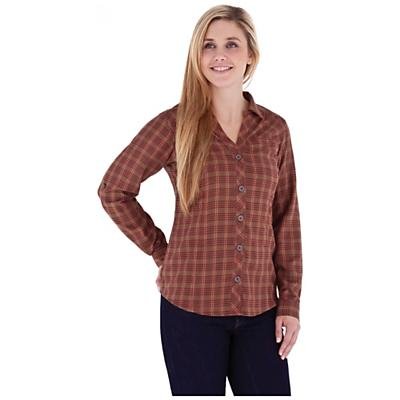Royal Robbins Women's Ticaboo Plaid Long Sleeve Shirt Jacket