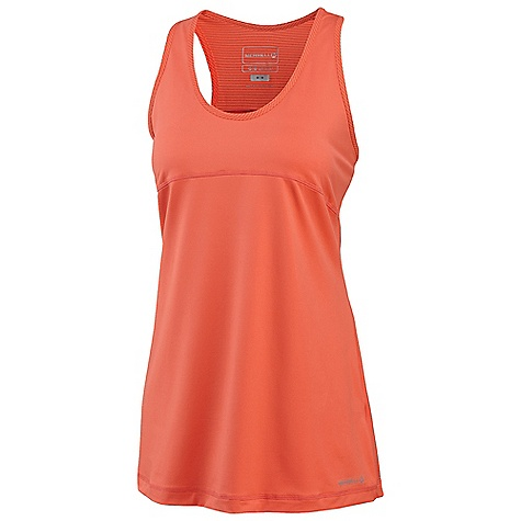photo: Merrell Thelon Racerback short sleeve performance top