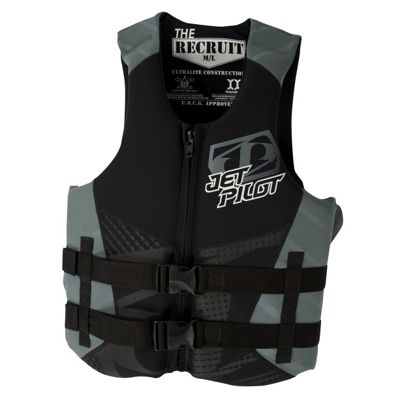 Jet Pilot Recruit Neo CGA Wakeboard Vest - Men's