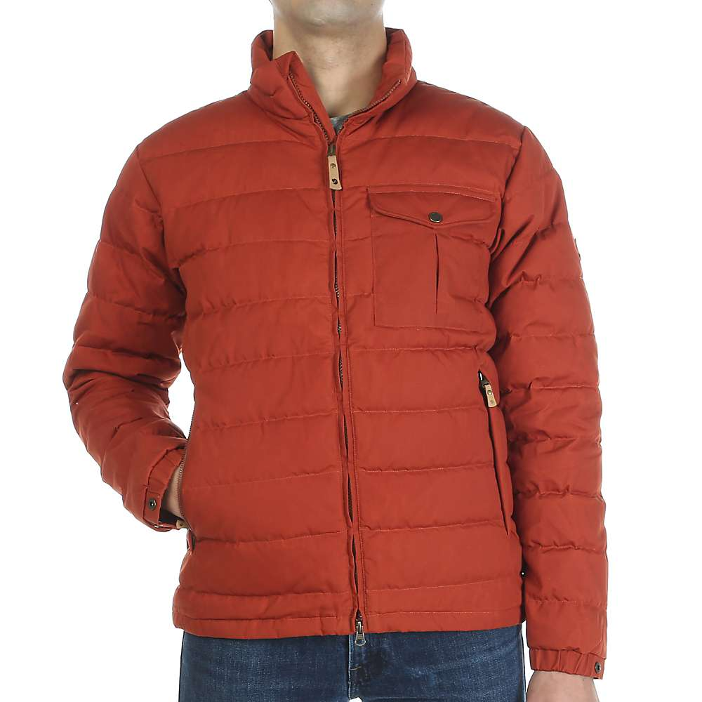 Fjallraven Men's Ovik Lite Jacket - Large - Autumn Leaf