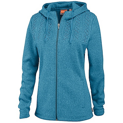 photo: Merrell McKenzie Corded Hoodie fleece jacket