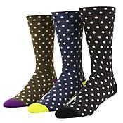 Vans Polka Crew 3 Pack Socks - Men's