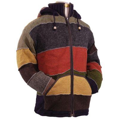 Laundromat Men's Patchwork Sweater