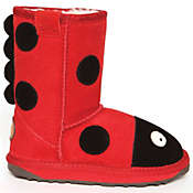 EMU Kids' Little Creatures Ladybird Boot