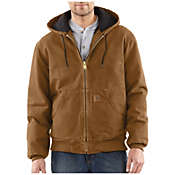 Carhartt Men's Quilted Flannel Lined Sandstone Active Jacket