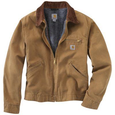 Carhartt Men's Weathered Duck Detroit Jacket