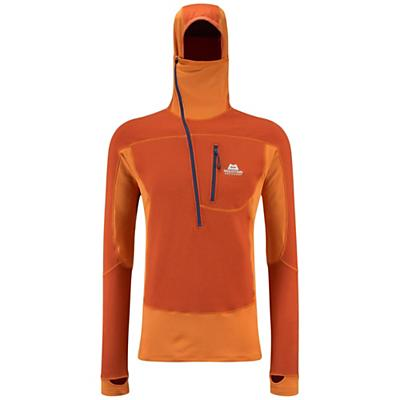 Mountain Equipment Men's Eclipse Hooded Zip Tee