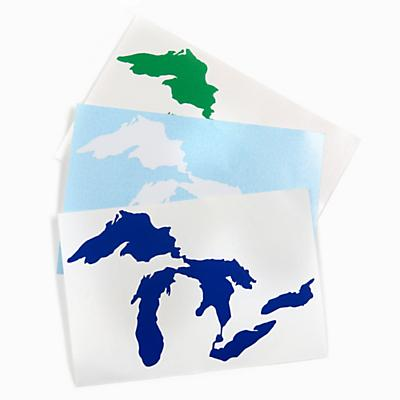 Great Lakes Proud Stickers - 3 Pack