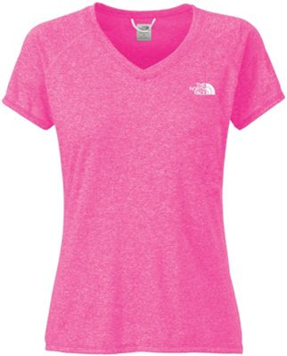The North Face Women's S/S Reaxion Amp V-Neck Tee