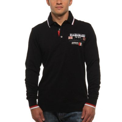 Napapijri Men's Emans L/S Polo