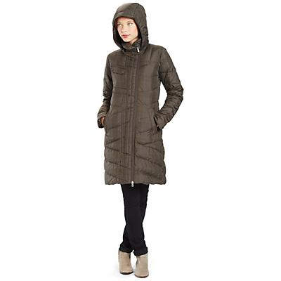 Nau Women's Plaid 3/4 Cocoon Trench