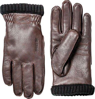 Hestra Men's Deerskin Primaloft Ribbed Glove