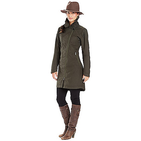 Nau Women's Waximum Trench Coat