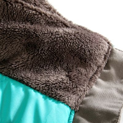 Soft monkey fleece interior collar lining
