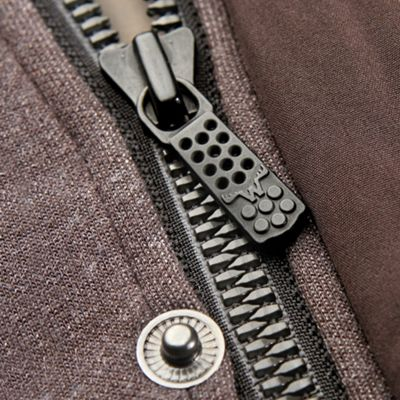 Chunky YKK Metalux Zipper