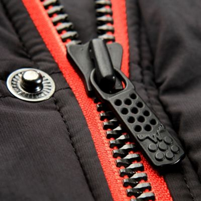 Heavy duty YKK Metalux zipper