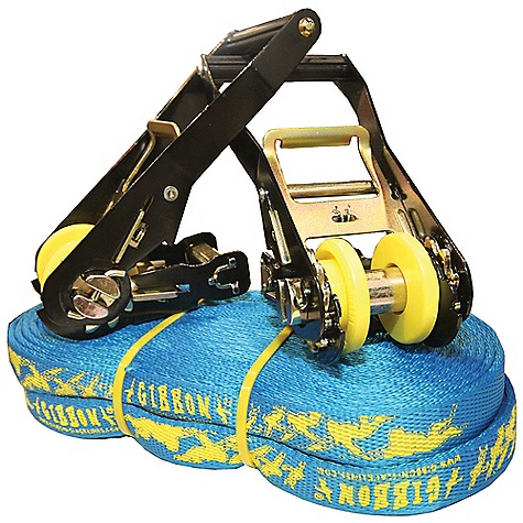 photo: Gibbon Tubeline Double Ratchet Kit slackline