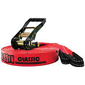 Gibbon 2-Inch Red Classic Slackline Kit