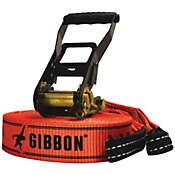 Gibbon 2-Inch Red Classic X13 Slackline Kit