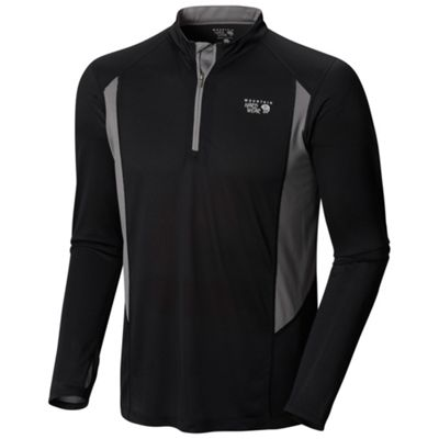 Mountain Hardwear Men's Double Wicked Long Sleeve Zip T