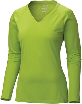 Mountain Hardwear Women's DryHiker Tephra Long Sleeve T