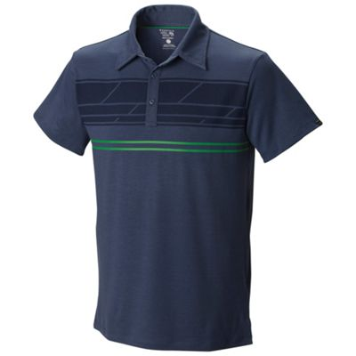 Mountain Hardwear Men's DryTraveler Stripe Polo