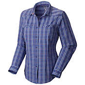 Mountain Hardwear Women's TrinaLake Plaid Long Sleeve Shirt