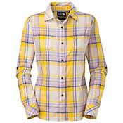 The North Face Women's L/S Alemany Plaid Shirt