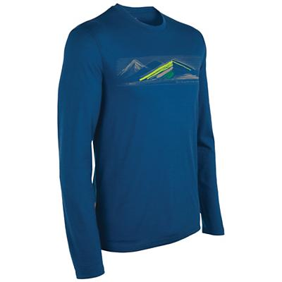 Icebreaker Men's Tech T Lite LS - Highland