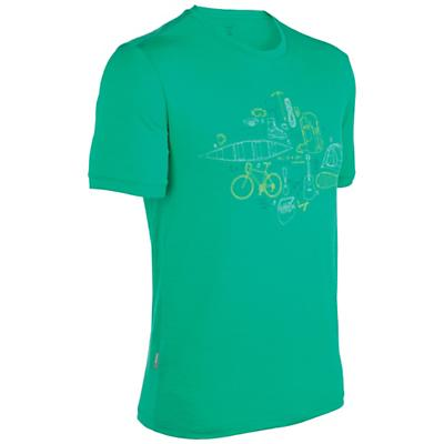 Icebreaker Men's Tech T Lite - All in a Day