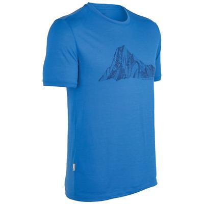 Icebreaker Men's Tech T Lite - Mt Cook