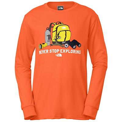 The North Face Boys' Camp TNF L/S Tee