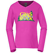 The North Face Girls' Camp TNF L/S Tee