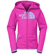The North Face Girls' Performance Full Zip Hoodie