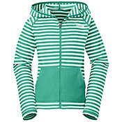 The North Face Girls' Printed Glacier Full Zip Hoodie