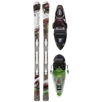 Rossignol Attraxion 6 Echo Skis w/ Saphir 110 S Wtpi2 Bindings - Women's