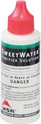 MSR Sweetwater Purifier Solution Replacement Bottle