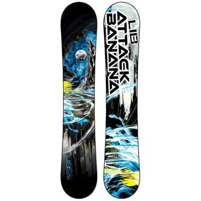 Lib Tech Attack Banana Snowboard 156 - Men's