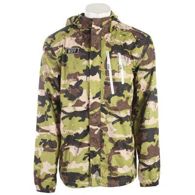 Neff Tactical Poncho Snowboard Jacket - Men's