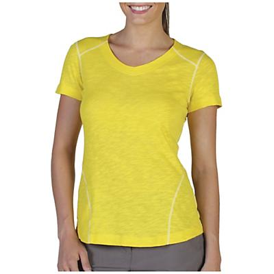ExOfficio Women's JavaTech V Neck Short Sleeve Top