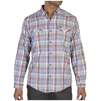 ExOfficio Men's Minimo Plaid Long Sleeve Shirt