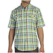 ExOfficio Men's Minimo Plaid Short Sleeve Shirt