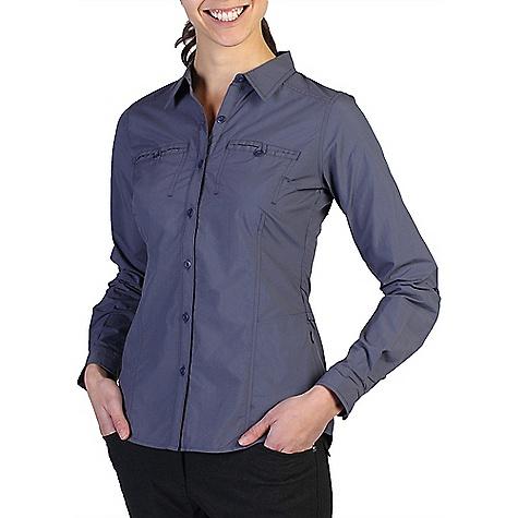 ExOfficio Women's Percorsa Long Sleeve Shirt