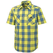 Adidas Men's EDO Check Short Sleeve Shirt