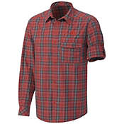 Adidas Men's Hiking Check Long Sleeve Shirt