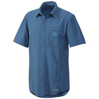 Adidas Men's Hiking Wick Short Sleeve Shirt