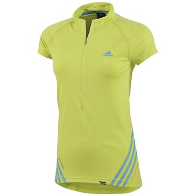Adidas Women's Terrex 1/2 Zip Short Sleeve Shirt