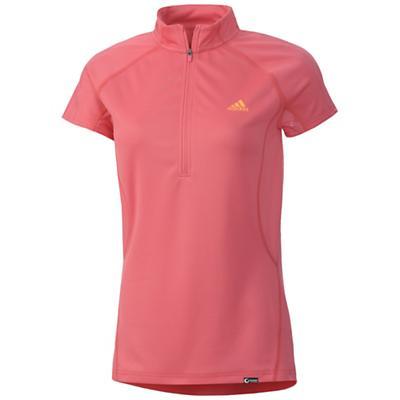 Adidas Women's Terrex Swift 1/2 Zip Short Sleeve Shirt