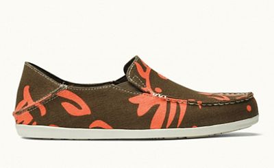 OluKai Women's Nohea Canvas Print Shoe